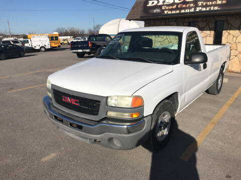 2003 GMC Sierra 1500 for sale at Discount Auto Sales in Wichita KS