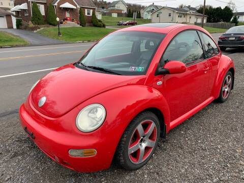 2002 Volkswagen New Beetle for sale at Trocci's Auto Sales in West Pittsburg PA
