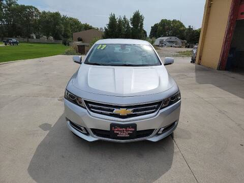 2017 Chevrolet Impala for sale at LEROY'S AUTO SALES & SVC in Fort Dodge IA
