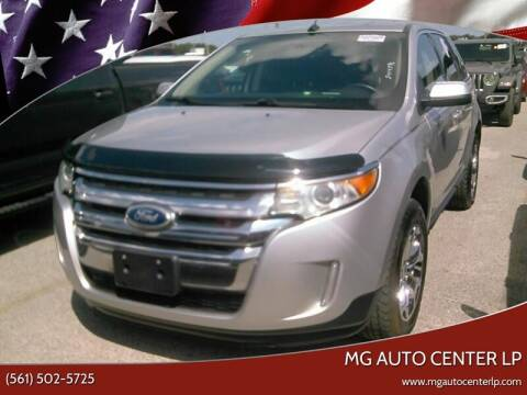 2014 Ford Edge for sale at MG Auto Center LP in Lake Park FL