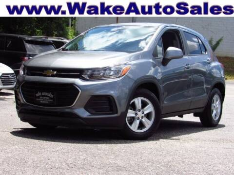 2020 Chevrolet Trax for sale at Wake Auto Sales Inc in Raleigh NC