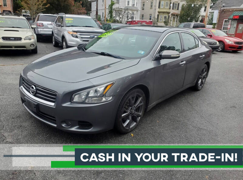 2014 Nissan Maxima for sale at Cars 4 U in Haverhill MA