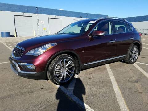 2017 Infiniti QX50 for sale at A.I. Monroe Auto Sales in Bountiful UT