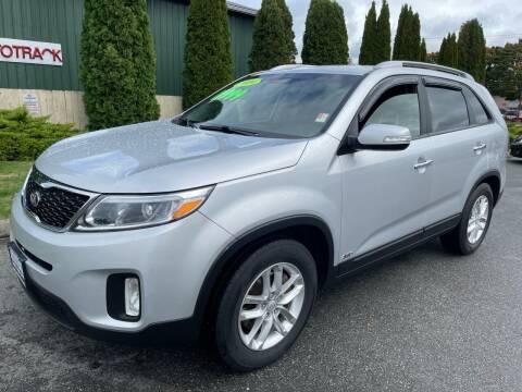 2014 Kia Sorento for sale at AUTOTRACK INC in Mount Vernon WA