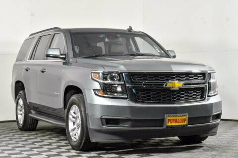 2019 Chevrolet Tahoe for sale at Chevrolet Buick GMC of Puyallup in Puyallup WA