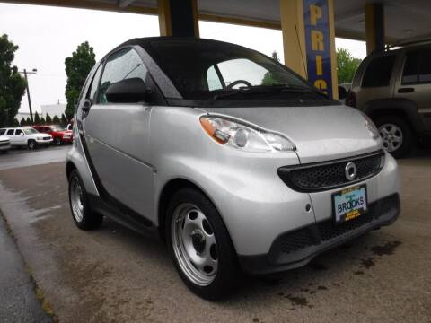 2015 Smart fortwo for sale at Brooks Motor Company, Inc in Milwaukie OR