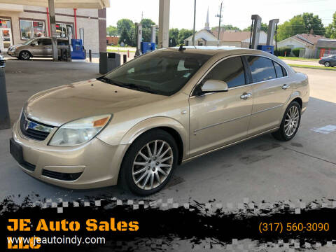 2007 Saturn Aura for sale at JE Auto Sales LLC in Indianapolis IN