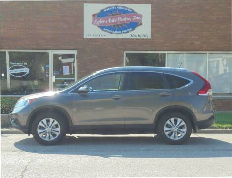 2013 Honda CR-V for sale at Eyler Auto Center Inc. in Rushville IL