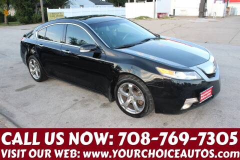 2009 Acura TL for sale at Your Choice Autos in Posen IL