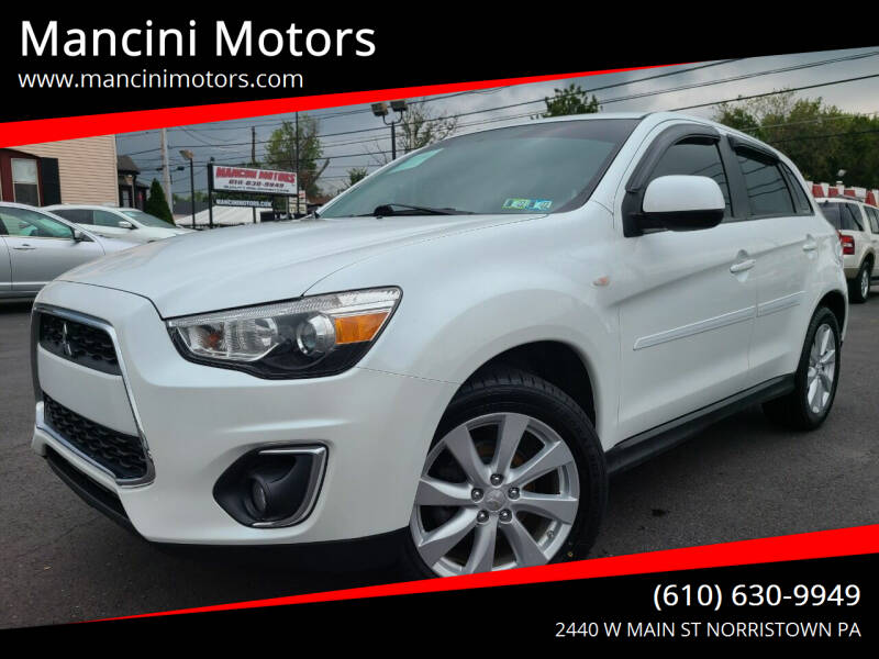2014 Mitsubishi Outlander Sport for sale at Mancini Motors in Norristown PA