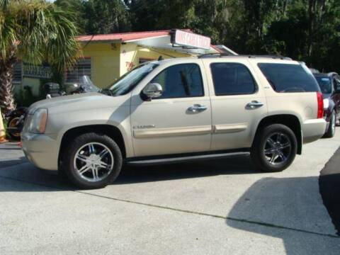 2008 GMC Yukon for sale at VANS CARS AND TRUCKS in Brooksville FL