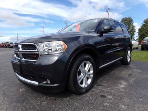 2013 Dodge Durango for sale at Pool Auto Sales Inc in Spencerport NY
