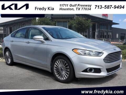 2016 Ford Fusion for sale at FREDY KIA USED CARS in Houston TX