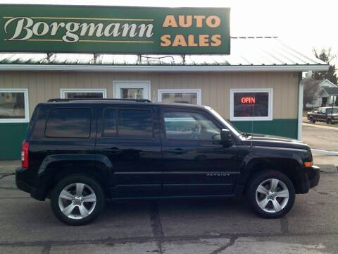 2014 Jeep Patriot for sale at Borgmann Auto Sales in Norfolk NE