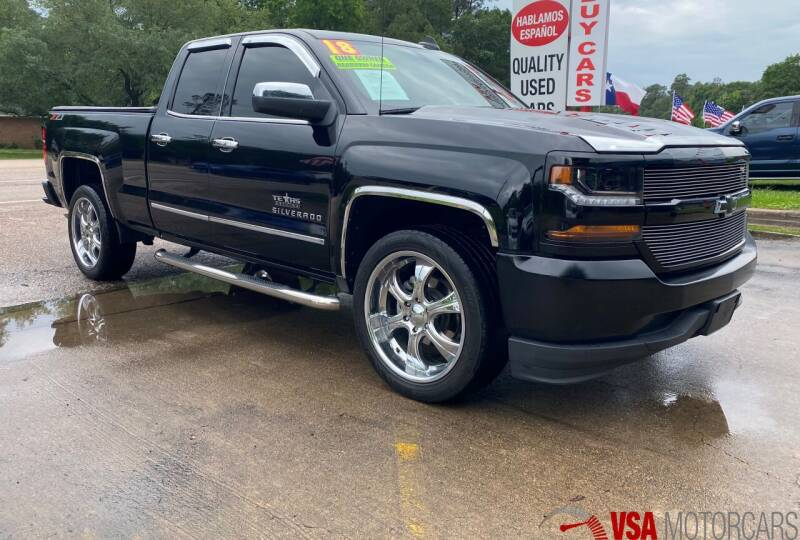 2018 Chevrolet Silverado 1500 for sale in Cypress, TX