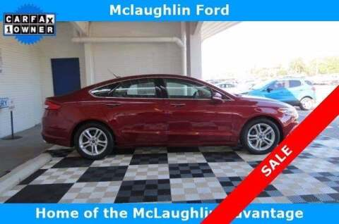 2018 Ford Fusion for sale at McLaughlin Ford in Sumter SC