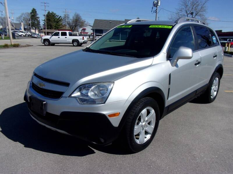 2012 Chevrolet Captiva Sport for sale at Ideal Auto Sales, Inc. in Waukesha WI