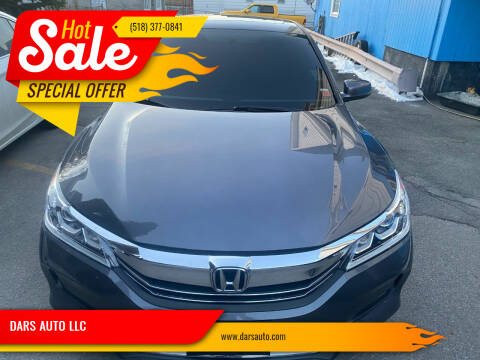 2016 Honda Accord for sale at DARS AUTO LLC in Schenectady NY