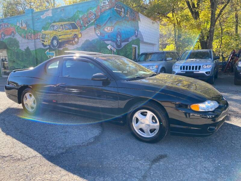 2003 Chevrolet Monte Carlo for sale at Showcase Motors in Pittsburgh PA
