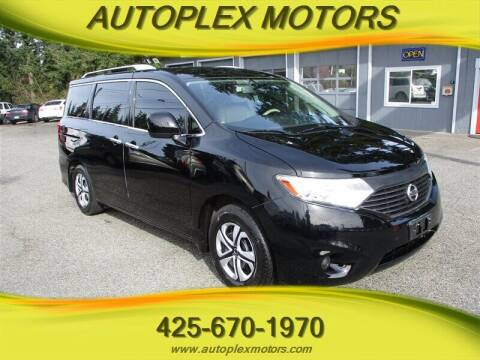 2013 Nissan Quest for sale at Autoplex Motors in Lynnwood WA