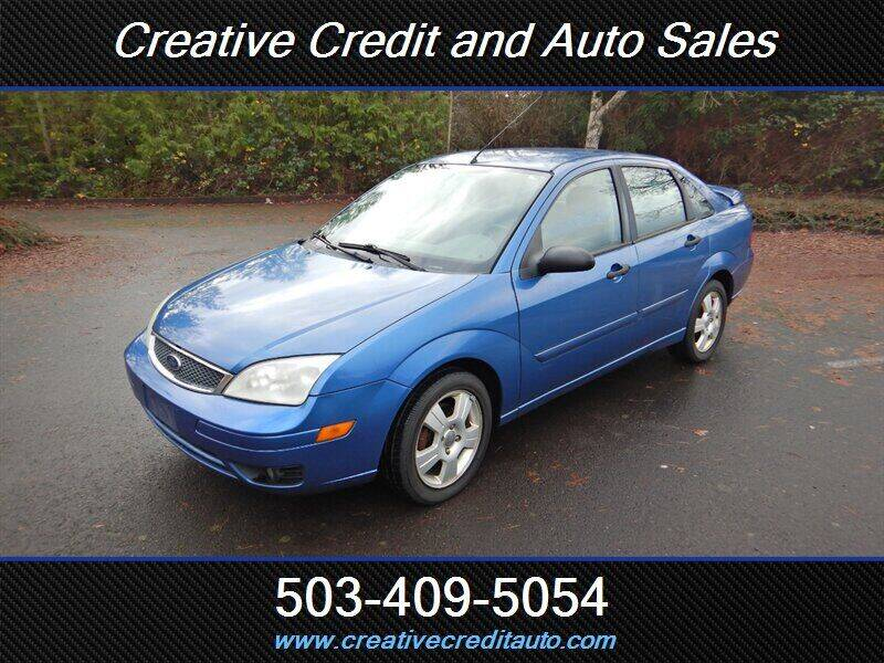 2005 Ford Focus for sale at Creative Credit & Auto Sales in Salem OR