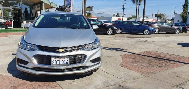 2017 Chevrolet Cruze for sale at Auto Land in Ontario CA