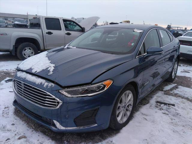 2019 Ford Fusion Hybrid for sale at Credit Connection Sales in Fort Worth TX