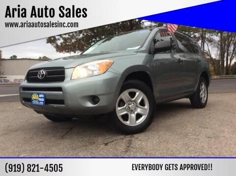 2008 Toyota RAV4 for sale at ARIA  AUTO  SALES in Raleigh NC