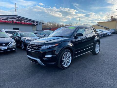 2015 Land Rover Range Rover Evoque for sale at Sisson Pre-Owned in Uniontown PA