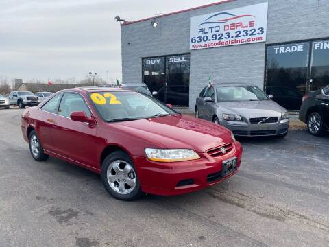 2002 Honda Accord for sale at Auto Deals in Roselle IL