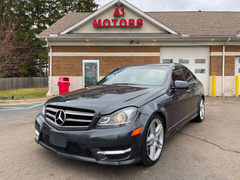 2013 Mercedes-Benz C-Class for sale at A 1 Motors in Monroe MI