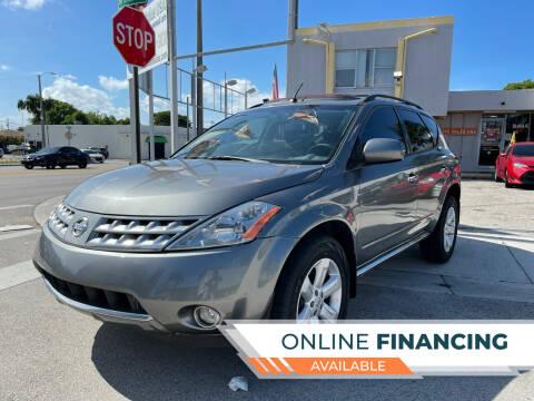 2007 Nissan Murano for sale at Global Auto Sales USA in Miami FL