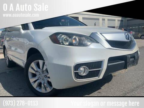 2010 Acura RDX for sale at O A Auto Sale - O & A Auto Sale in Paterson NJ