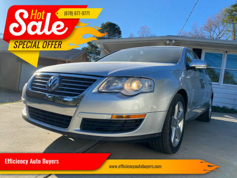2008 Volkswagen Passat for sale at Efficiency Auto Buyers in Milton GA