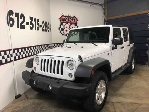 2017 Jeep Wrangler Unlimited for sale at MOTORS 88 in New Brighton MN