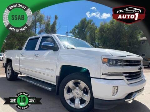 2016 Chevrolet Silverado 1500 for sale at Street Smart Auto Brokers in Colorado Springs CO