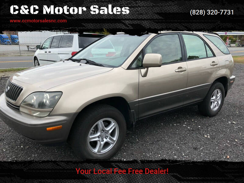 1999 Lexus RX 300 for sale at C&C Motor Sales LLC in Hudson NC