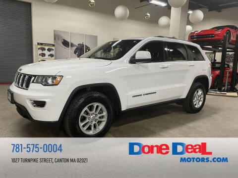 2018 Jeep Grand Cherokee for sale at DONE DEAL MOTORS in Canton MA