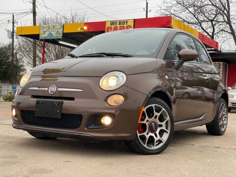 2013 FIAT 500 for sale at Cash Car Outlet in Mckinney TX
