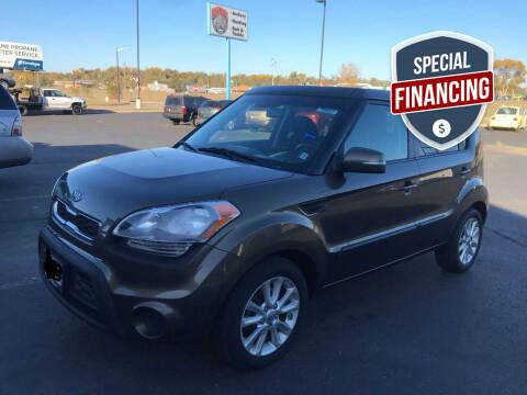 2012 Kia Soul for sale at Cannon Falls Auto Sales in Cannon Falls MN