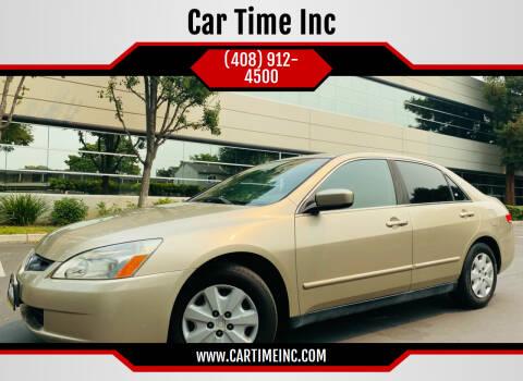 2004 Honda Accord for sale at Car Time Inc in San Jose CA