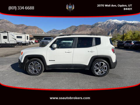 2015 Jeep Renegade for sale at S S Auto Brokers in Ogden UT