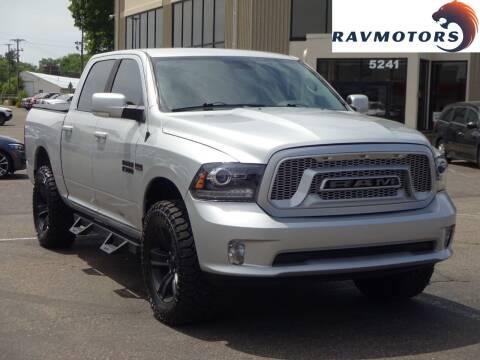 2018 RAM Ram Pickup 1500 for sale at RAVMOTORS 2 in Crystal MN