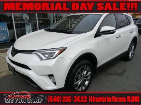 2018 Toyota RAV4 for sale at Platinum Motorcars in Warrenton VA