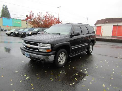 2006 Chevrolet Tahoe for sale at ARISTA CAR COMPANY LLC in Portland OR