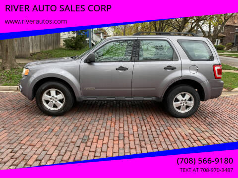 2008 Ford Escape for sale at RIVER AUTO SALES CORP in Maywood IL