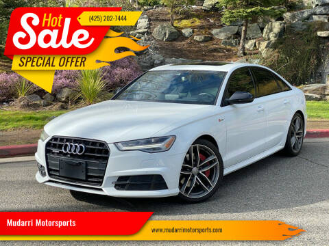 2017 Audi A6 for sale at Mudarri Motorsports in Kirkland WA