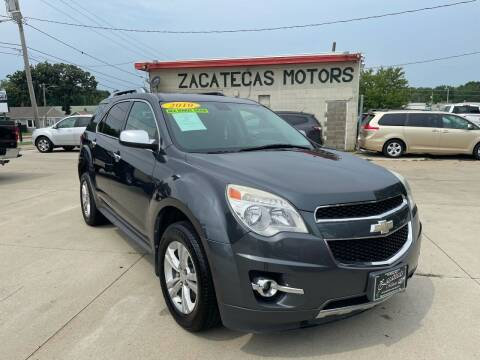 2010 Chevrolet Equinox for sale at Zacatecas Motors Corp in Des Moines IA