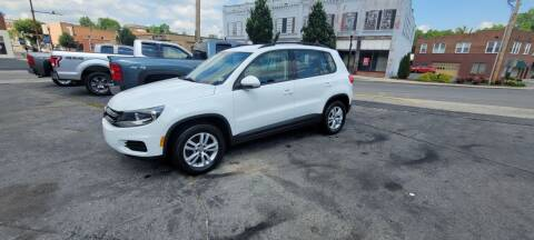 2016 Volkswagen Tiguan for sale at East Main Rides in Marion VA