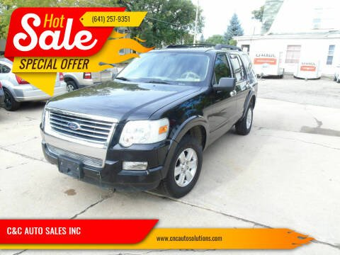 2008 Ford Explorer for sale at C&C AUTO SALES INC in Charles City IA